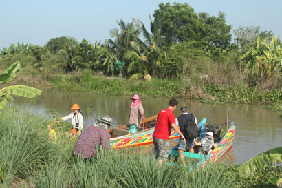 Pattaya - Cruising through the rice fields