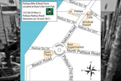 Location Pattaya Bike and Boat Tours